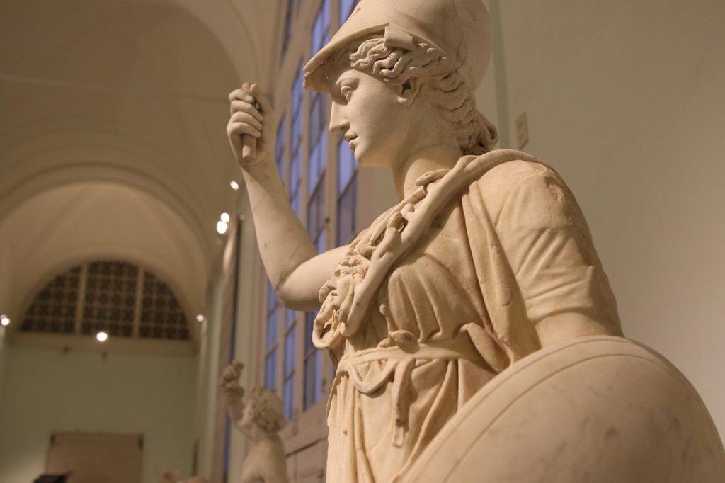 athena, goddess, wisdom